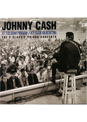 Johnny Cash - At Folsom Prison/At San Quentin (2 CD) (Music CD)