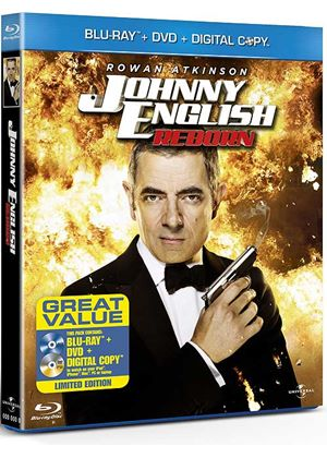 Johnny English Reborn (Blu-Ray, DVD & Digital Copy)