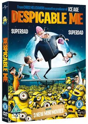 Despicable Me with Limited Edition 3D Lenticular Sleeve