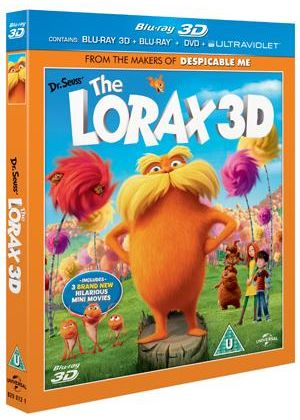 Dr Seuss' The Lorax (Blu-ray 3D + Blu-ray + DVD)
