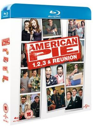 American Pie / American Pie 2 / American Pie 3 - The Wedding / American Pie Reunion (Blu-Ray)
