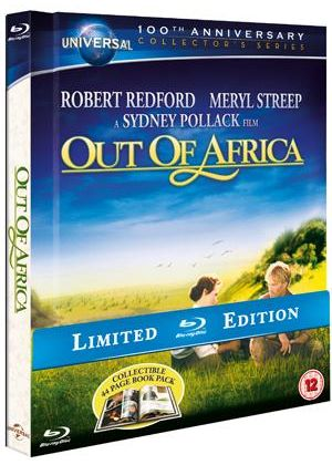 Out of Africa - Limited Edition Digibook (Blu-ray)