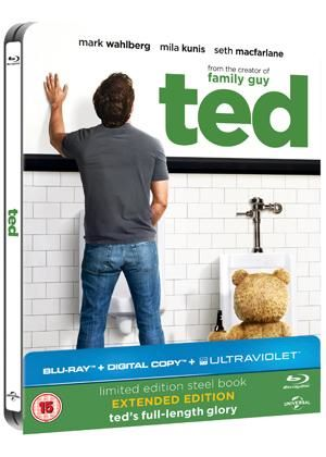 Ted - Limited Edition Steelbook (Blu-ray + Digital Copy + UltraViolet Copy)