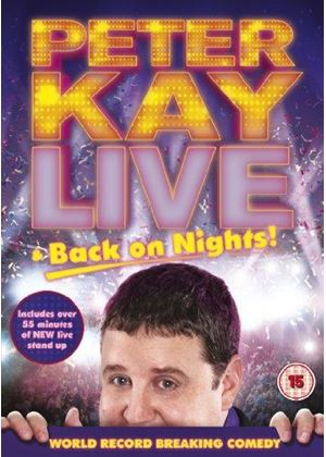 Peter Kay - Live Back On Nights