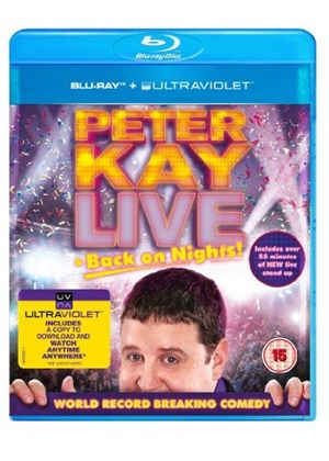 Peter Kay - Live Back On Nights (Blu-Ray)