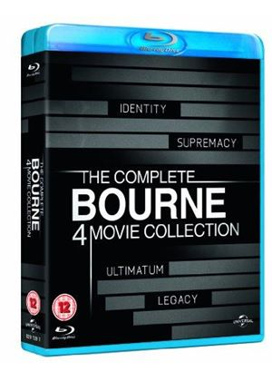 Bourne Identity / The Bourne Supremacy / The Bourne Ultimatum / The Bourne Legacy (Blu-Ray)