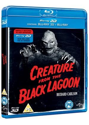 The Creature From The Black Lagoon (1954) (3D Blu-ray)