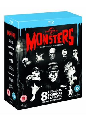 Universal Classic Monster - The Essential Collection (Blu-Ray)