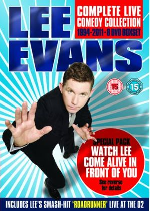 Lee Evans: Complete Live Comedy Collection 1994-2011 - Special Augmented Reality Box Set