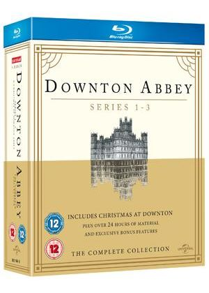 Downton Abbey - Series 1-3 / Christmas at Downton Abbey 2011 (Blu-Ray)