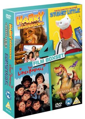 Harry And The Hendersons / We're Back! A Dinosaur's Story / Little Rascals / Stuart Little