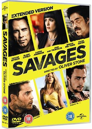 Savages (DVD + Digital Copy + UltraViolet Copy)