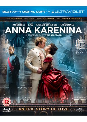 Anna Karenina (Blu-ray + Digital Copy + UltraViolet Copy)