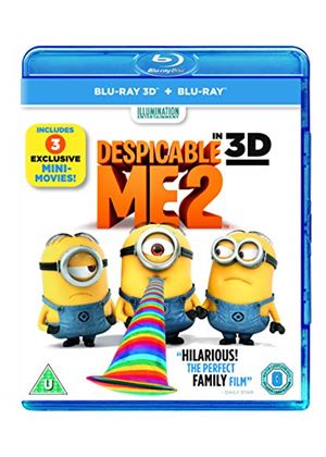 Despicable Me 2 (Blu-ray 3D + Blu-ray + UV Copy)