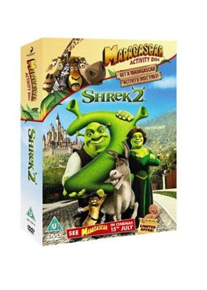 Shrek 2 (Animated) / Madagascar Activity Disc (Two Discs)
