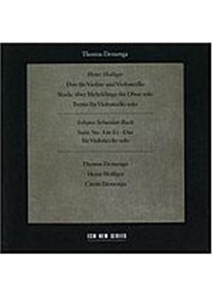 Thomas Demenga - Compositions By Holliger And Bach (Music CD)