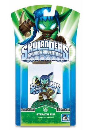 Skylanders: Spyro's Adventure - Character Pack - Stealth Elf (Wii/PS3/Xbox 360/PC/DS)