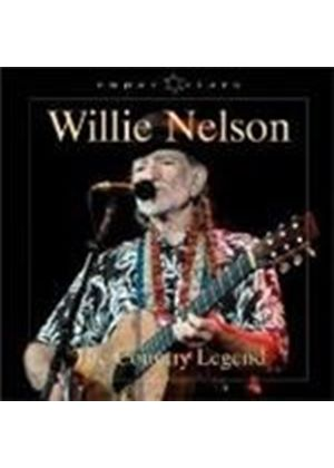 Willie Nelson - Country Legend, The (Music CD)