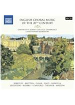 English Choral Music of the 20th Century (Music CD)