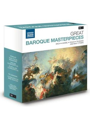 Great Baroque Masterpieces (Music CD)
