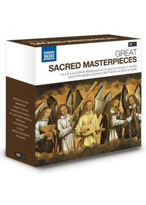 Great Sacred Masterpieces (Music CD)