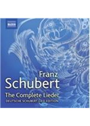 Franz Schubert: The Complete Lieder (Music CD)
