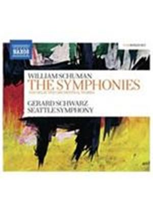 Schuman: (The) Symphonies and Selected Orchestral Works (Music CD)