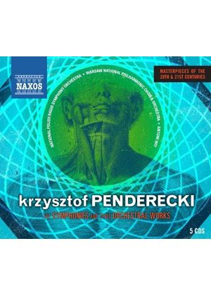 Penderecki: Symphonies & Other Orchestral Works (Music CD)