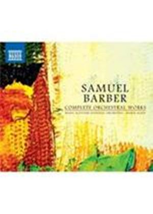 Barber: Complete Orchestral Works (Music CD)