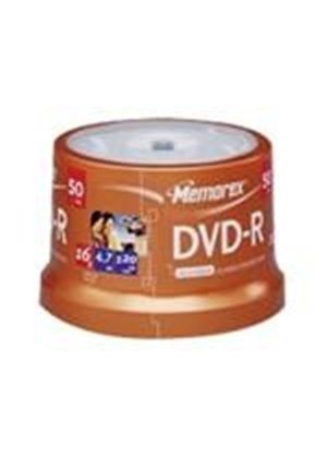 Memorex - 50 x DVD-R - 4.7 GB 16x - spindle - storage media