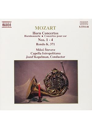 Mozart: Works for Horn and Orchestra