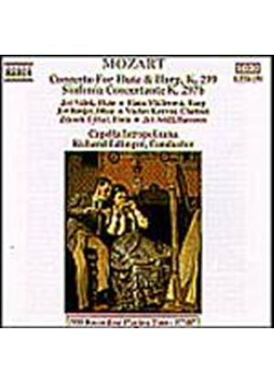 Wolfgang Amadeus Mozart - Flute & Harp Concerto/Sinfonia Cto (Capella Ist, Edling) (Music CD)