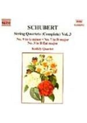 Schubert: String Quartets, Volume 3