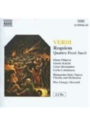 Hungarian State Opera Or/Morandi - Verdi/Requiem (Music CD)