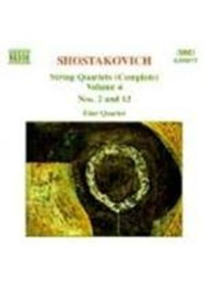 Shostakovich: String Quartets, Vol. 4