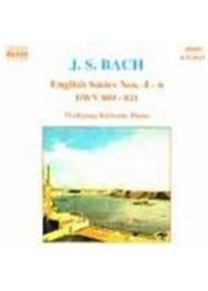 Bach: English Suites Nos 4-6