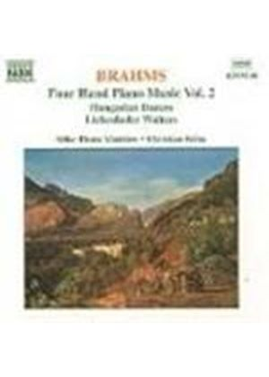 Brahms: Piano Duet Works, Vol. 2