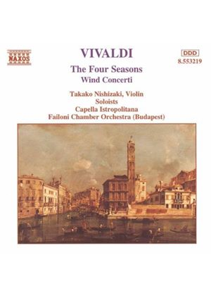 Antonio Vivaldi - Four Seasons (Failoni CO, Nishizaki) (Music CD)