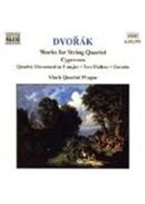 Dvorák: Quartet Movement, B120; Cypresses; Waltzes