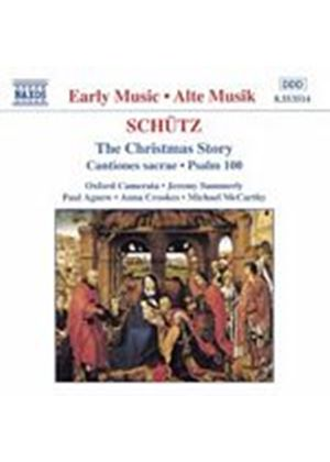 Heinrich Schutz - Christmas Story (Oxford Camerata, Summerly) (Music CD)
