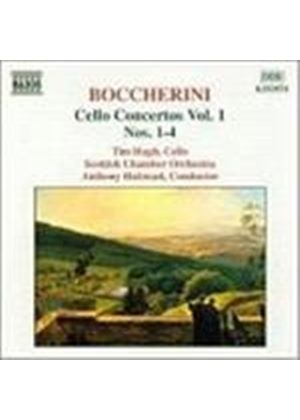 Hugh/Halstead - Cello Concertos 1 - 4 - Boccherini (Music CD)