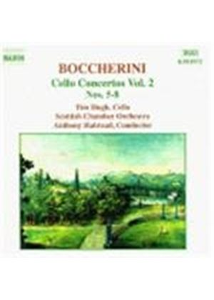 Luigi Boccherini - Cello Concertos Vol. 2 (Hugh, Scottish CO, Halstead) (Music CD)
