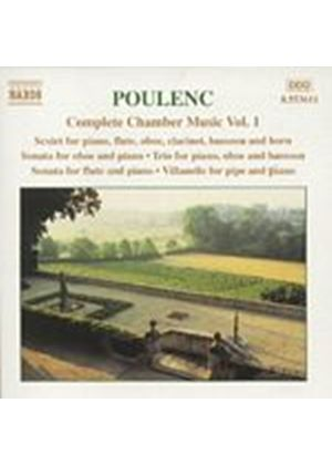 Francis Poulenc - Complete Chamber Music - Vol 1/Lefevre/Tharaud (Music CD)
