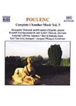Poulenc: Complete Chamber Music Vol 3