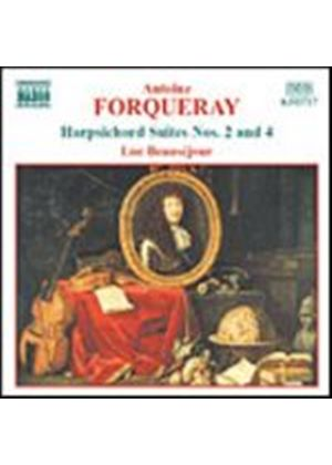 Antoine Forqueray - Harpsichord Suites Nos. 2 & 4 (Beausejour) (Music CD)
