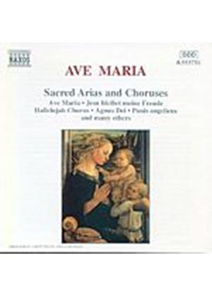 Various Artists - Ave Maria/Sacred Arias And Choruses (Music CD)
