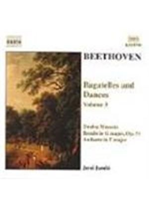 Beethoven: Bagatelles and Dances, Volume 3