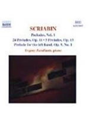 Scriabin: Preludes, Volume 1