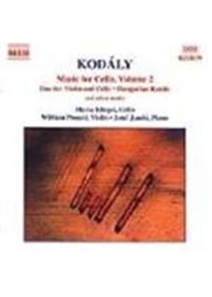 Kodály: Cello Works, Volume 2