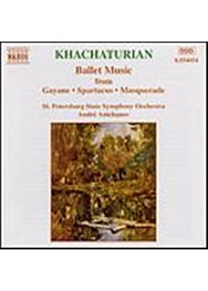 St. Petersburg SO/Anichanov - Khachaturian/Ballet Music (Music CD)